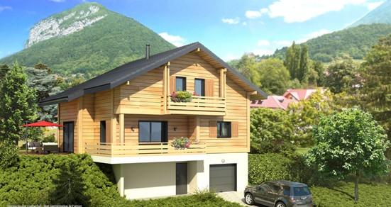 Faire construire une maison en bois à La Plagne